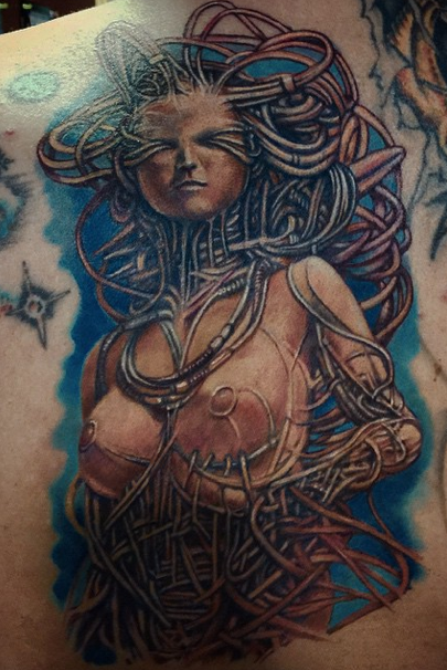 Tattoos - Alien Woman - 100282